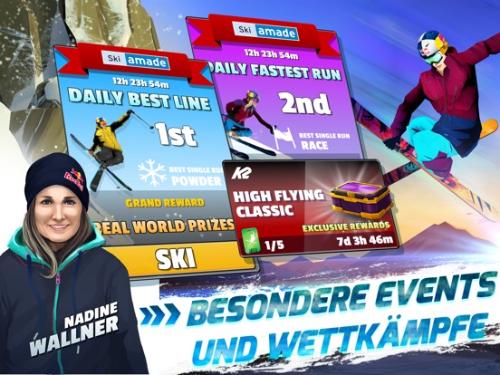 Screenshot 4 Red Bull Free Skiing