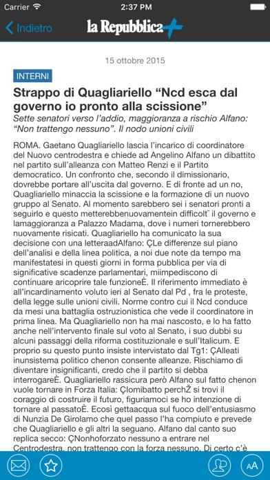 Screenshot of la Repubblica3
