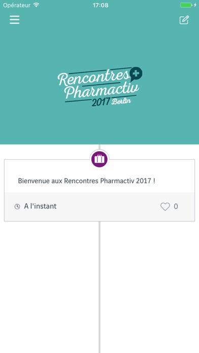 Rencontres pharmactiv 2017