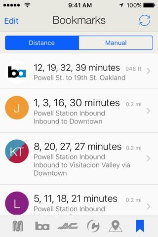 Routesy Pro Bay Area screenshot 1