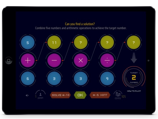 Target Number - Challenging Math Puzzle Game Screenshots