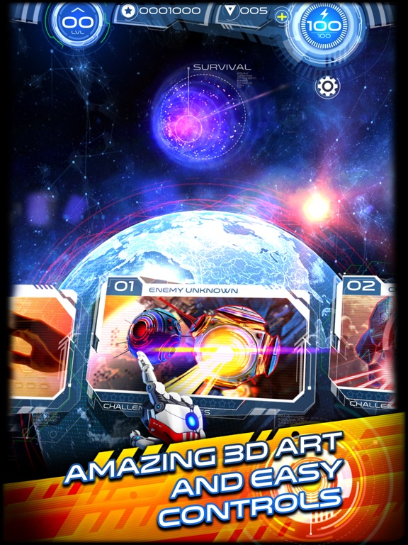 Screenshot 2 Space Warrior: The Story