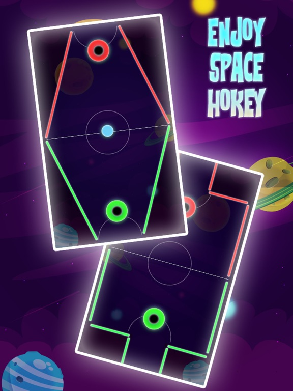 Color Hockey - Space Arena Скриншоты6