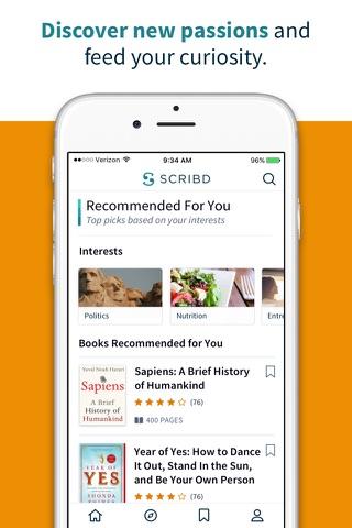 Scribd - Reading Subscription screenshot 3