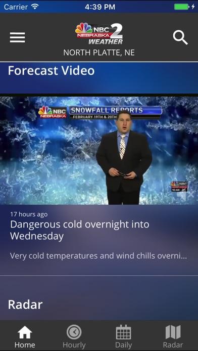 KNOP News 2 WeatherScreenshot of 2