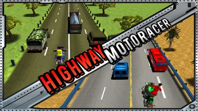 Screenshot of Highway Bike Racer : 3D Racing2