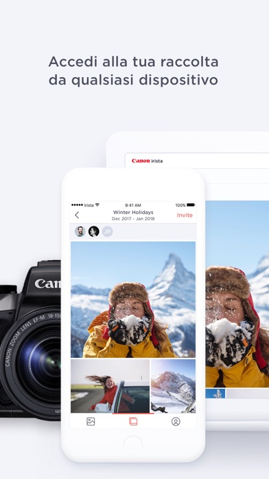 Screenshot of Canon Irista4