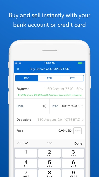 download Coinbase - Buy Bitcoin & more apps 4