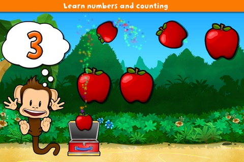 Monkey Preschool Lunchbox screenshot 3