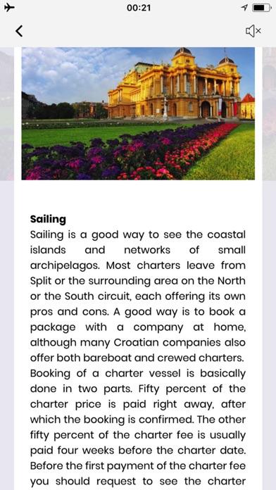 Croatie Guide de VoyageCapture d'écran de 4