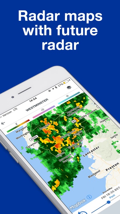 The Weather Channel: Radar Screenshot