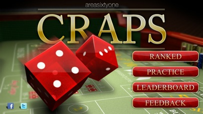Probability of rolling craps