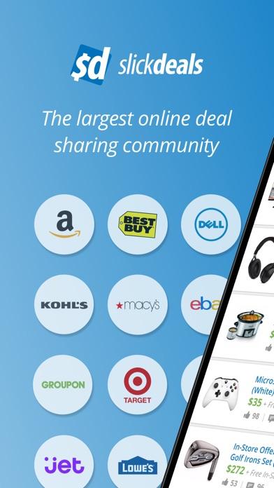 Screenshot 0 for SlickDeals's iPhone app'