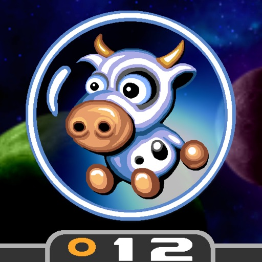 cows in space by donut games. Black Bedroom Furniture Sets. Home Design Ideas