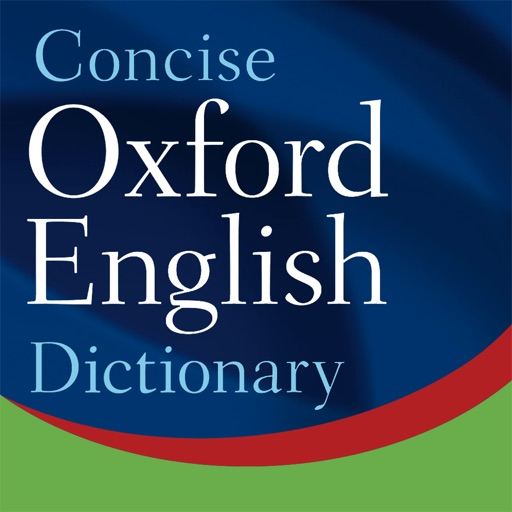 Concise Oxford English Dictionary with Audio app icon图