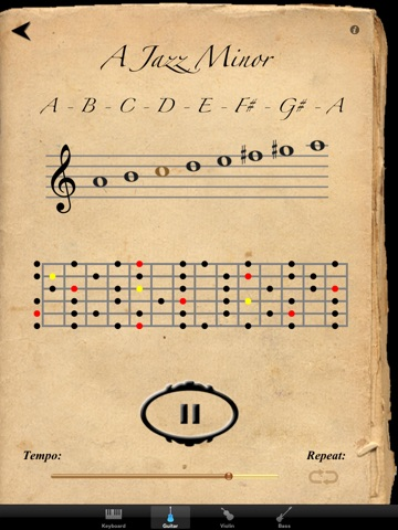Scales & Modes for iPad screenshot 4