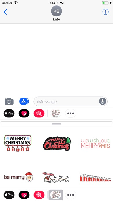 iMessage preview