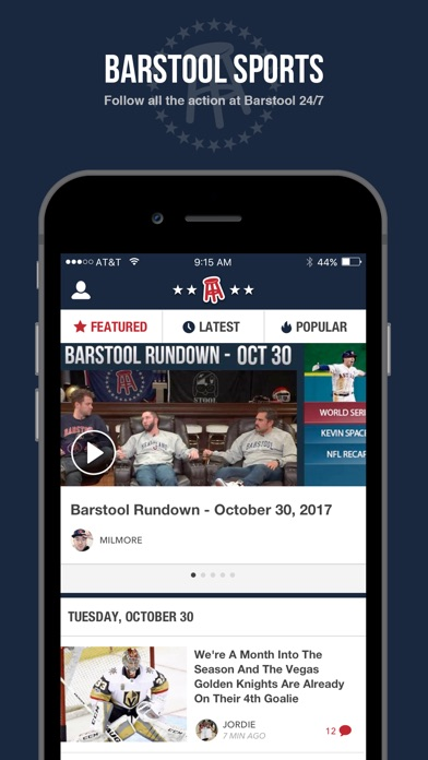 Barstool Sports | App Report on Mobile Action