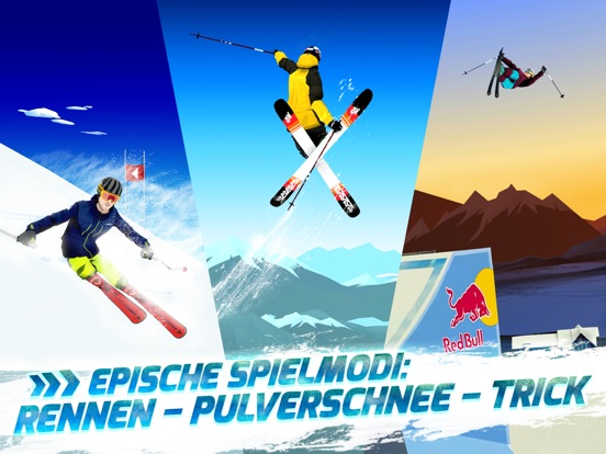 Screenshot 1 Red Bull Free Skiing