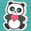 Panda Bear : Animated Stickers