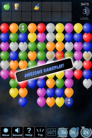 Tap 'n' Pop Classic (Lite): Balloon Group Remove screenshot 2