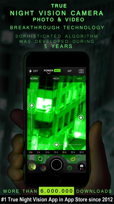 Night Vision Camera (Photo & Video) Screenshot