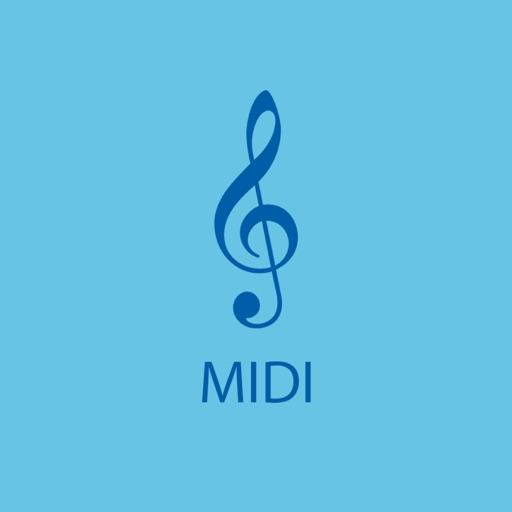 MIDI Notes iOS App