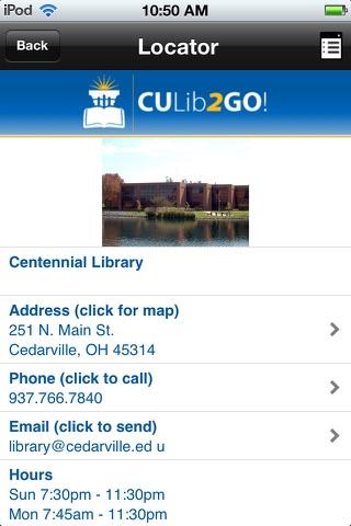 CULib2Go! screenshot 4