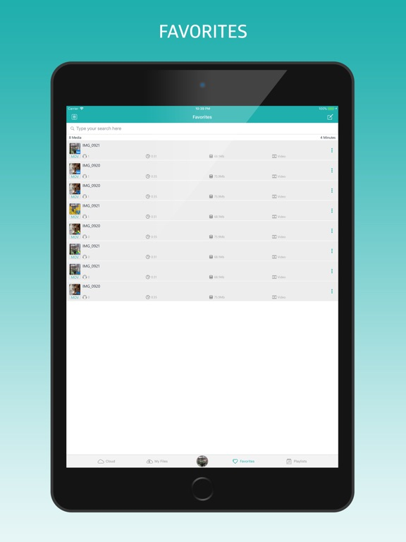 MyMedia - File Manager & Vault-ipad-3