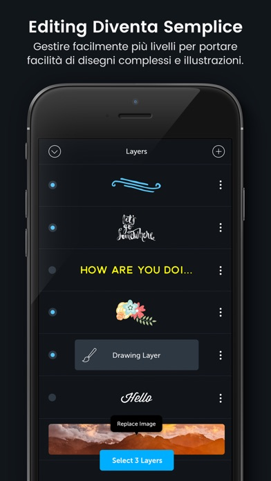 Screenshot of PicLab HD - Design Studio5