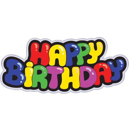 Happy Birthday Funny Sticker Pack For IMessage Por
