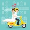Bride Groom Stickers Pack