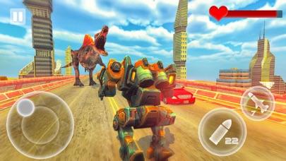 Robot Vs Dinosaur screenshot 3