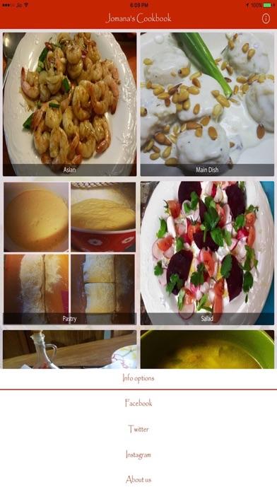 Jomana's Cookbook App Screenshot 5