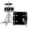 Drummer Stickers