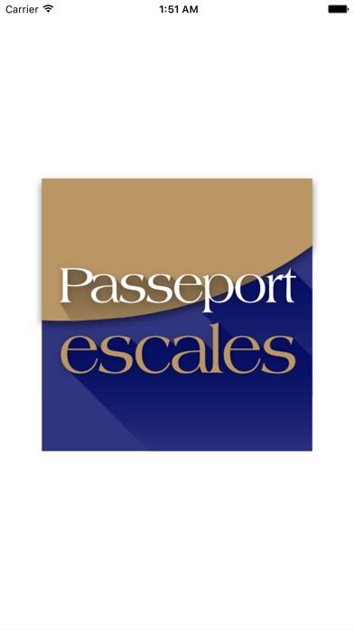 Passeport EscalesCapture d'écran de 1