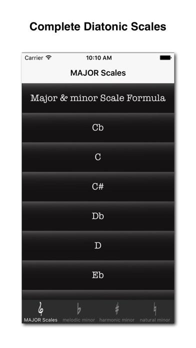 Diatonic Scale Screenshots