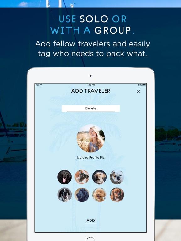 Упаковочный лист для путешеств Скриншоты9