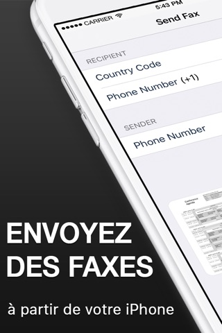 Fax from iPhone - Send Fax App screenshot 1