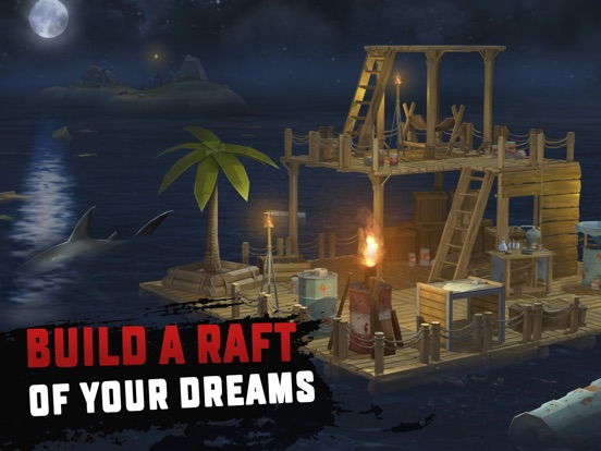 how to make boat in raft original survival game