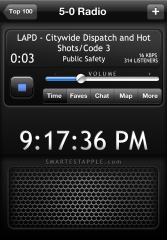 5-0 Radio Pro Police Scanner screenshot 1