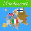 Flags of Europe - Montessori Approach to Geography