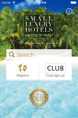 Small Luxury Hotels of the World screenshot 1