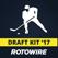 RotoWire Fantasy Hockey Draft Kit 2017