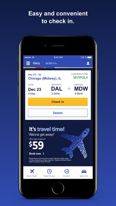 download Southwest Airlines apps 2