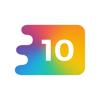 MagicAnt,Inc - 頭が良くなるフリックパズル 10 (テン) アートワーク