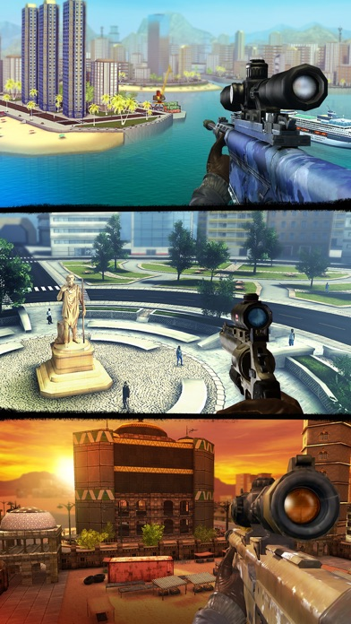 download Sniper 3D: Shoot to Kill FPS appstore review