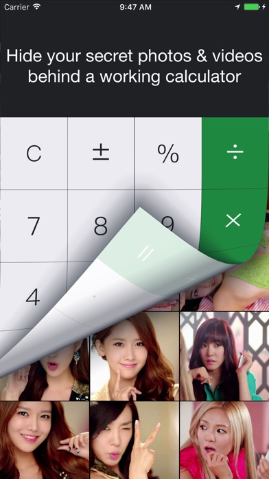 Calculator Pro: Lock Private Secret Picture Vault Screenshots