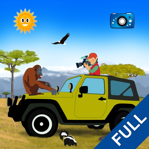みんな見つけて:動物を探して(完全バージョン)-子供向け教育ゲーム