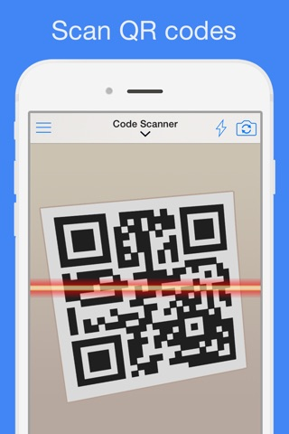QR Reader for iPhone (Premium) screenshot 1